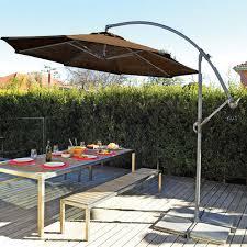 costway 9ft patio umbrella patio market steel tilt w crank outdoor yard garden tan com