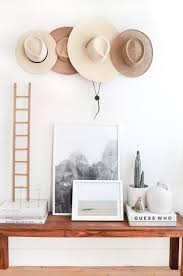 Hats Gallery Wall // Camille Styles