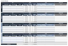 Free Sales Pipeline Templates Smartsheet