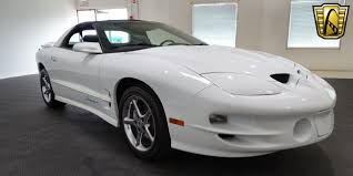 White Pontiac Firebird In Illinois For Sale ▷ Used Cars On ...
