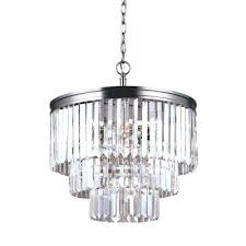 brushed nickel chandelier ith menards filament design 5 light with clear glass shade hampton bay white
