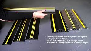 Weather Stop garage door thresholds product range - YouTube