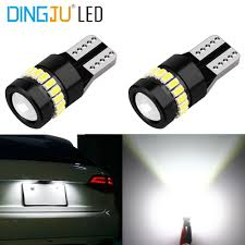 Parking Lights Car Us 1 99 1 Piece Car Led Bulb T10 194 W5w 3014 18smd 1smd 3030 Clearance Light Parking Lamps Side Lights Car Accessories In Signal Lamp From