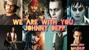 Johnny Depp Mashup video | Johnny depp | Gnyabagam varugiradha song ft. |  Watsapp videos