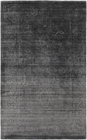 hightower hand woven black area rug reviews allmodern regarding rugs plan 7
