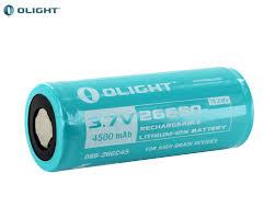 Аккумулятор <b>Olight</b> ORB-266C45 4500 mAh 1шт. для <b>фонаря</b> ...