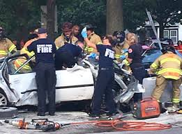Light Rail Minneapolis Accident Car Smashes Through Metro Transit Bus In St Paul 1 Dead