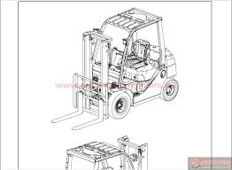 toyota forklift 8fg 8fd10 30 series repair manual auto repair