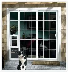 patio door with dog door built in interior door with pet door interior doors patio doors