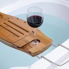bathtub tray caddy over the tub bathtub caddy