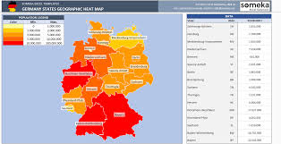heatmap in excel germany heat map generator dynamic printable excel template