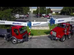 Manitex Inc Truck Mounted Lifting Solutions