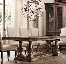 rh s st james rectangular extension dining table reimagining architectural elements from the early 19th century our dining table features intricate dentil