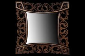 mirror frame. Mirror Frame Motif Tribal