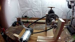 DIY Steam Powered Electric Generator Part 1 YouTube