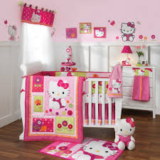 beautiful baby bedding sets for girls pink hello kitty baby bedding sets brown wooden laminate flooring