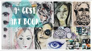 a gcse art book full marks yr 11 coursework