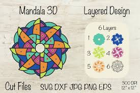 Editor, svg, animated, animation, builder, creator, engine, enliven, enlivenem, image, retina, scalable, snap, vector, wordpresssee all tags. Mandala 3d Layered Mandala Mandala Svg 939033 3d Printing Design Bundles