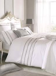 Holly Willoughby grey antique lace bedding - Limited Sizes ... & Holly Willoughby grey antique lace bedding - Limited Sizes Available - BHS Adamdwight.com