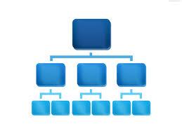 Org Chart Graphic Organization Chart Icon Psd Psdgraphics