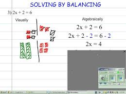 4 1 solving simple linear equations