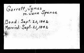 Garrett Family History | Bundles of Twigs and Flowers