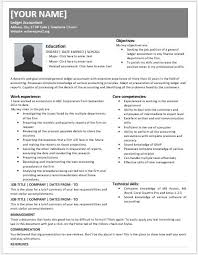 Accountant Resume New Accountant Resume Free Letter Templates Online Jagsaus