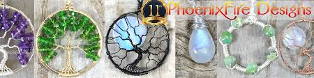 tree of life pendants wire wrapped jewelry by phoenixfiredesigns