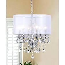 chandelier with shade and crystals silver orchid crystal chandelier with translucent fabric shade crystal chandelier shade chandelier with shade