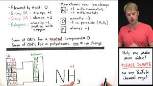 Charting Oxidation Number Worksheet Answer Key How To Calculate Oxidation Numbers Introduction