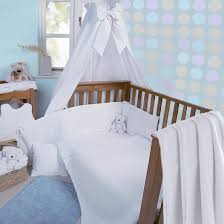 clair de lune soft waffle 3 piece cot cot bed bedding bale white