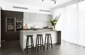 Matt Black and textured light concrete Beton cabinetry from Freedom ...