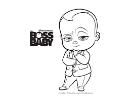 Awesome The Boss Baby Movie Coloring Pages Gallery Printable