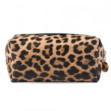 2019 leopard leather makeup bags travel organizer cosmetic bags tool pouch make up beauty case necessaire toiletry storage bag cn258 from special2016