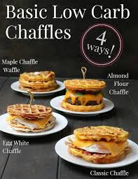 Add the salt and almond flour or meal and whisk until you have a smooth, bubbling waffle batter. Four Basic Chaffle Recipes The Merchant Baker