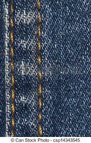 Denim Blue Close Up Of Blue Denim Stitching Texture Background