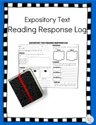 What Is Expository Text Expository Text Reading Response Log