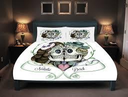 Skull Bedroom Sugar Skull Duvet Etsy