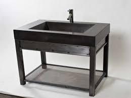 metal bathroom vanity  tybalt stainless steel vanity brushed