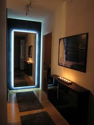 ikea mirror transformed with nightclub chic led lighting ikea hackers