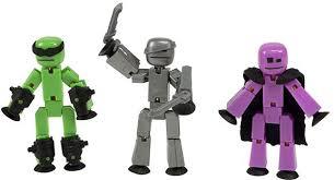 Купить <b>Stikbot 3 фигурки</b> colorful в Москве: цена <b>игрушки Stikbot 3</b> ...