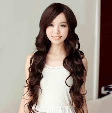 Japan Women Hair Style women carve bangs scroll fluffy wig big wave of japanese girls 2933 by wearticles.com