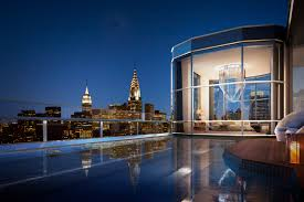 Nyc Penthouses For Parties Laps Of Luxury Talk About Making A Splash A New 100 Million