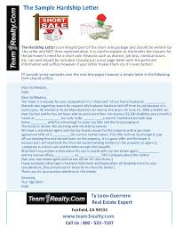 examples of hardship sample hardship letter for a short sale ty leon guerrero of team1real