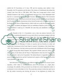 u s government and politics constitution essay u s government and politics constitution essay example