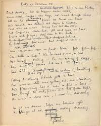 poets of the great war siegfried sassoon and wilfred owen the manuscript