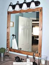 how to build a diy frame to hang over a