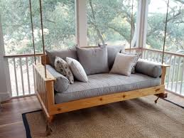 Lowcountry Swing Beds The Daniel Island Cedar Daybed Swing