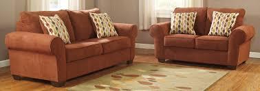 Orange Living Room Sets Orange Living Room Set Living Room Set Paulie Durablend
