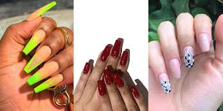 Best Coffin Nail Designs 2019 13 Coffin Nail Art Ideas To Copy Best Designs For Short Or
